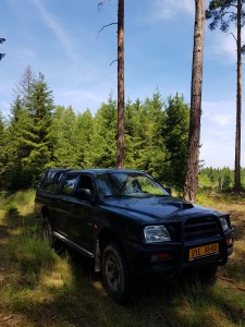Umíme číst v lesnických mapách a dostaneme se všude, kam potřebujete :-)
